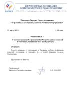 Решение 3 Президиума 11.03.21